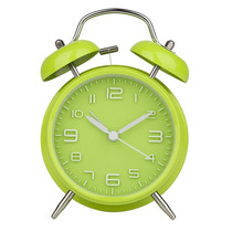 Reloj Despertador Alarma Clásico, Verde - Blakhelmet Nsp