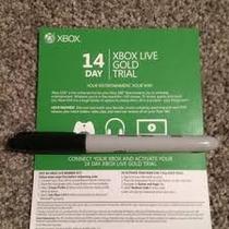 Membresia Xbox Live 14 Dias 2 Semanas Toda Las Regiones