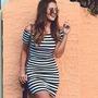 Vestido Justo Moda Verão 2017 Roupas Femininas Fique Linda