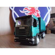 Miniatura Caminhão Scania R 124 400 1:43 Die Cast R124400