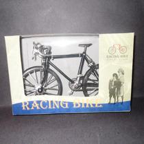 Bicicleta De Carreras Metal Miniatura Escala 1:10 Nueva