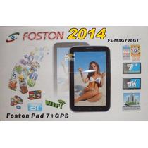 Tablet Celular Foston 796 Completo Gps Satelite +capa Bumper