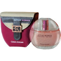 Perfume Active Woman Eau De Parfum 80ml Chris Adams