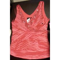 Elegante Blusa Color Coral 8