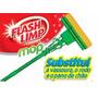 Rodo Magico Esfregão Mop Umido Limpeza Flash Limp Limpa Piso