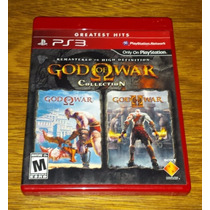 God Of War Collection 1 + 2 Mídia Física Original Ps3 Kratos