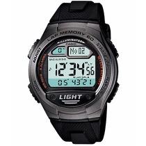 Relogio Casio W 734-1a Digital Crono Lap Timer 5alarm 10anos