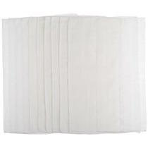 Gerber Birdseye 3-ply Prefold Pañales De Tela Blanca 10 Cont