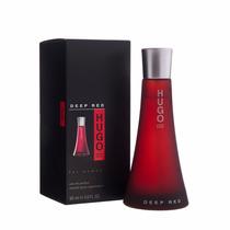 Perfume Hugo Boss Deep Red Feminino 90ml Eau De Parfum