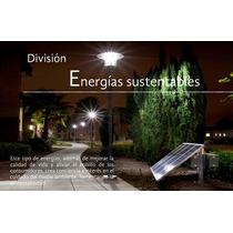 Kit De 6 Lamparas Solares Sub-urbanas Para Alumbrado Publico