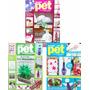 Kit 3 Revistas Garrafas Pet Reciclagem Artesanato Arte + Nf