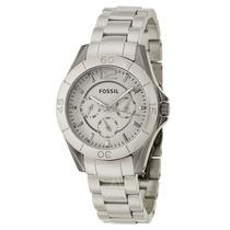 Precioso Reloj Fossil Gris De Cerámica Original Para Dama!!