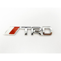 Emblema Logo Trd Metal Cajuela Tacoma Corolla Tundra Yaris