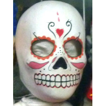 La Catrina Mascara De Latex Carnavales Fiestas Dia Muertos