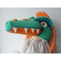Gorro Goma Espuma Cotillón Dinosaurio Mr Heavysaurio