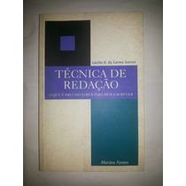 Livro Técnicas De Redação Lucilla H Campos = Sebocorresponde