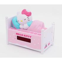 Hello Kitty Radio,reloj,despertador De Camita Original Au1