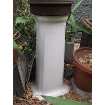 Pedestal De Loza Cuadrado