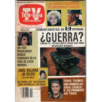 Thalia Y Lucia Mendez Revista Teleguia 1991