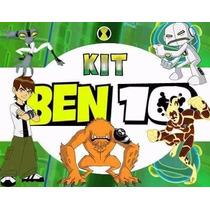Kit Imprimible Candy Bar Ben 10 Golosinas Y Mas