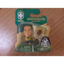 Mini Boneco Jogador Seleção Brasileira Daniel Alves Cbf