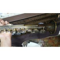 Sax Soprano Weril Master Envelhecido E Com Sapatilhas Novas