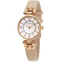 Reloj Anne Klein Rosa Acero Piel Oveja Mujer 10/9442rglp