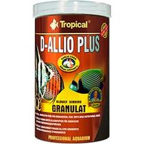 Ração Para Peixe D-allio Plus Granulat Tropical 150g 250ml
