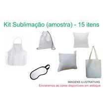 Kit Sublimação (amostra De Produtos) - 15 Itens