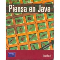 Libro: Piensa En Java - Bruce Eckel - Pdf