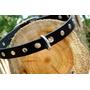 Collar Perro 100% Cuero-2cm Ancho-idal Bulldog Frances Y Mas