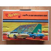 Hot Wheels Maleta Case Estuche Vintage 1967 Pop Up 12 Auto .