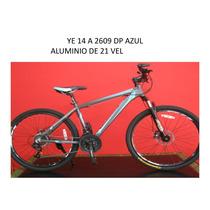 Bicicleta De Montana R26 21 Vel Aluminio