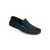 Zapato Mocasín Casual Hombre Mega 0811 Azul