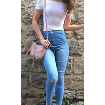 Jeans Roto Alto