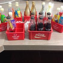 Lote Mini Garrafinhas Da Coca Cola Coke
