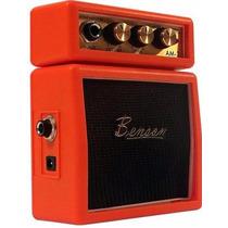 Mini Amplificador Para Guitarra Benson Am-2o - Laranjado
