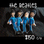Muñeco De Tela De The Beatles