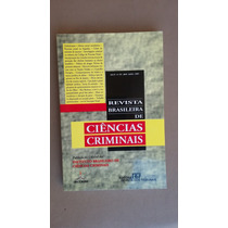 Livro Revista Brasileira De Ciências Criminais Nº 34 2001