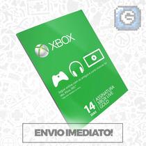 Xbox Live Br Usa Cartão 14 Dias - 2 Semanas