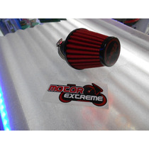 Filtro Aire De Alto Flujo 42mm Para Motoneta / Scooter !!!