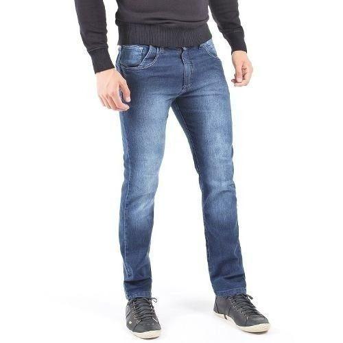99a84b5d6 Calça Jeans Com Lycra Stretch Masculina Skinny Plus Size - R  79