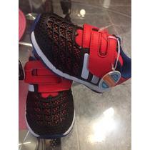 Zapatillas Bebé Adidas Talle 22 Spiderman