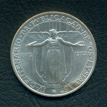 Moneda Portugal Sf (1972) 50 Escudos Km#602 (plata)