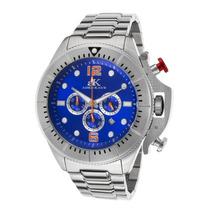 Reloj Adee Kaye Ak9041-m-bu Es Chronograph Stainless Steel