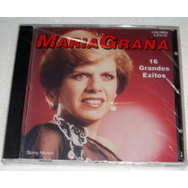 Maria Graña 16 Grandes Exitos Cd Sellado