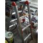 Escalera Aluminio 3 Tramos Tipo Andamio Plegable Poco Spacio