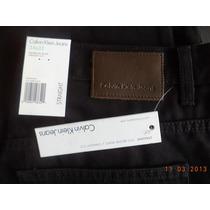 Pantalon Calvin Klein Negro Straight