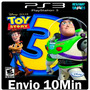 Toy Story 3 The Video Game Play3 Ps3 Psn Jogo Midia Dig