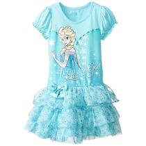 Vestido Disney De Frozen, Talla 5 Años